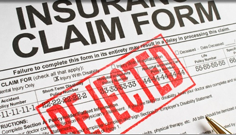 personal injury claims adjuster denied